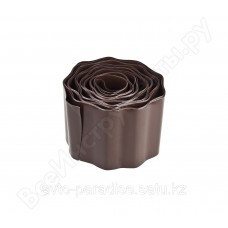 Бордюрная лента Grinda коричневый 10смх9м 422247-10