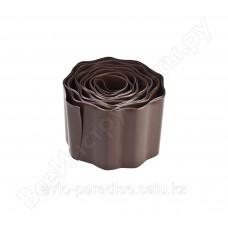 Бордюрная лента Grinda коричневый 10смх9м 422247-15