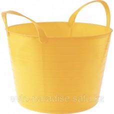 Ведро гибкое сверхпрочное 14 л, желтое СИБРТЕХ